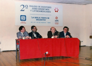 """""""LA BIBLIA PUNTO DE ENCUENTRO"""": Jaime Barylko y Sr. Marcos Aguinis"""