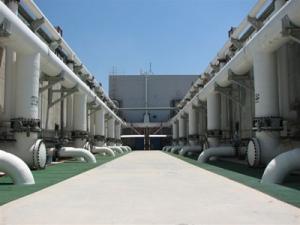 Producción de agua salada en agua potable