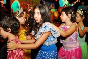 Festejos en Puro Purim, organizado todos los años por AMIA