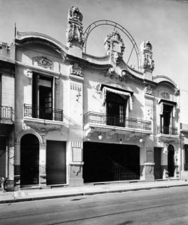 Sede de la Jevrá Kedushá (AMIA). Abajo funcionaba el teatro Ombú.