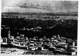 La ciudad de Damasco a principios de siglo.
