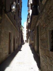 Calle de la Fuerza en la Judería, España