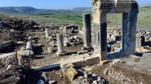 ruinas de la sinagoga